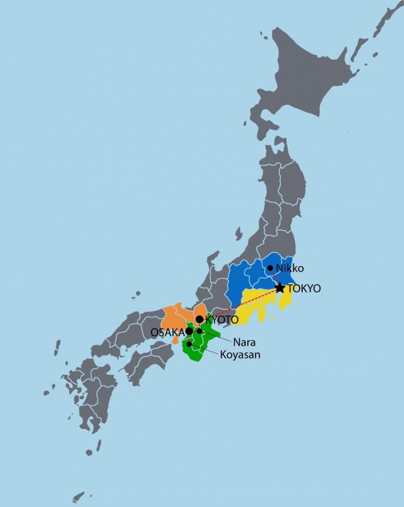 Mappa JAPPO (Large)