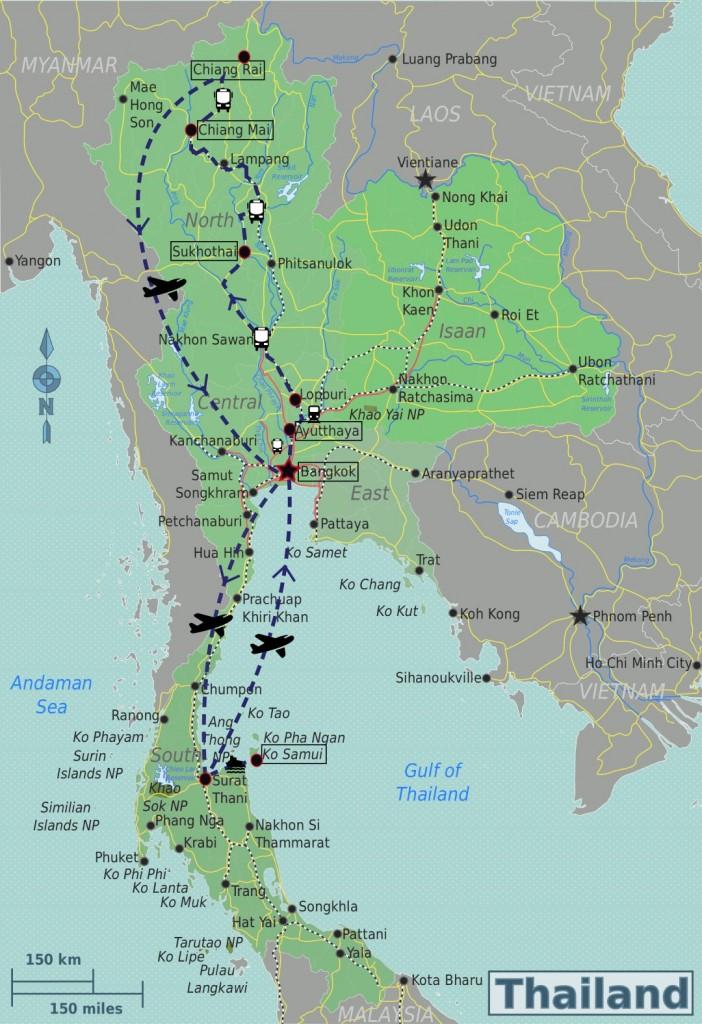 mappa thai (Large)
