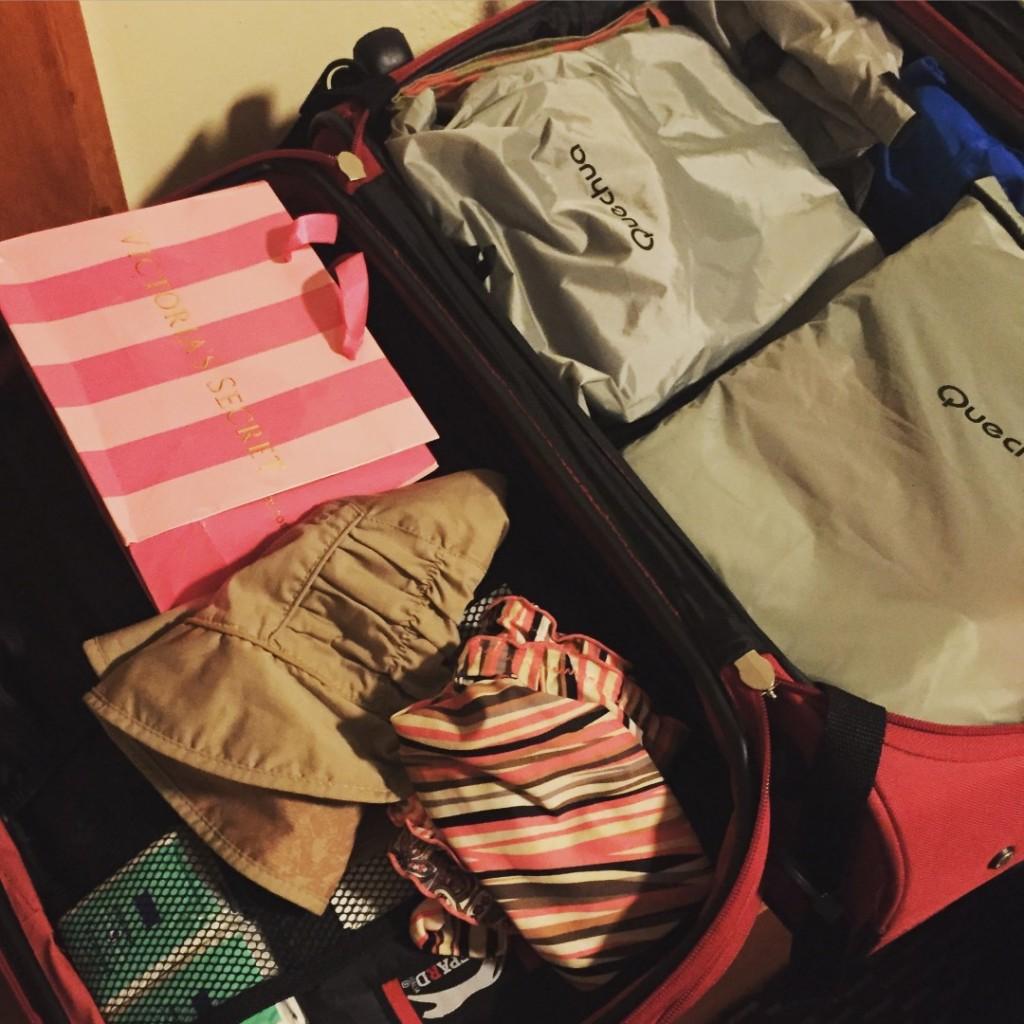 la valigia ritrovata ... e un po' di shopping di consolazione!